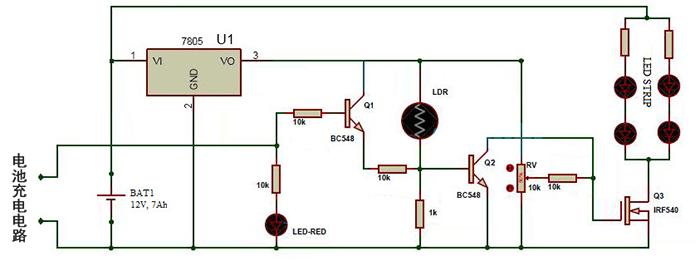 不使用单片机:如何做一个超低成本应急灯?
